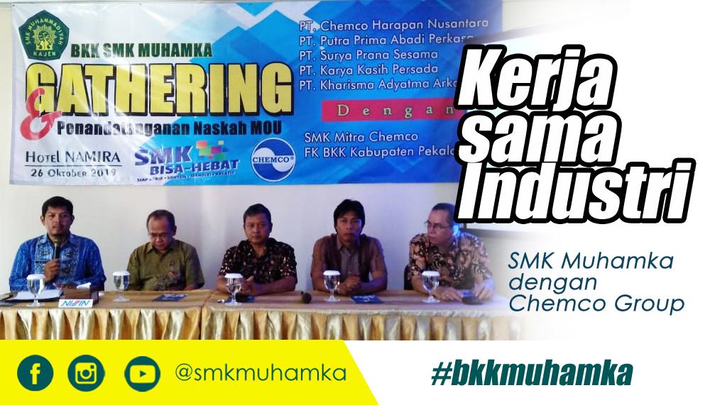 BKK SMK Muhamka Kerjasama Industri
