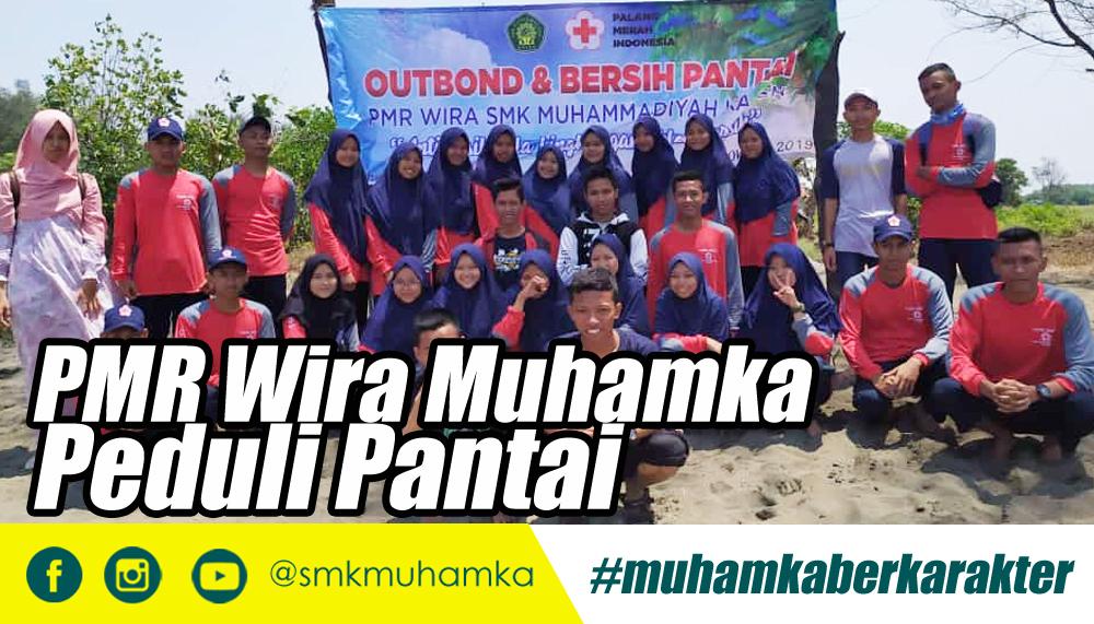 PMR Wira SMK Muhamka Peduli Pantai